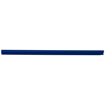 Durable Spinebar / 6mm / Up to 60 A4 Sheets / Blue / Pack of 50