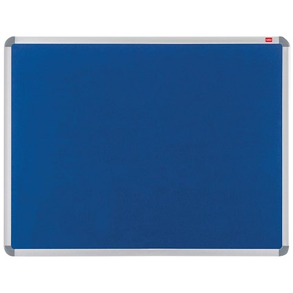 Nobo Euro Plus Noticeboard / Aluminium Trim / W1500xH1000mm / Blue