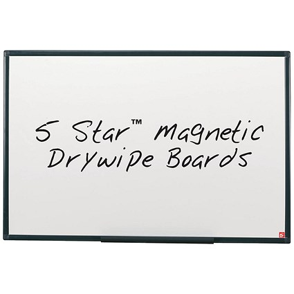 5 Star Lightweight Magnetic Drywipe Board -W1800xH1200mm