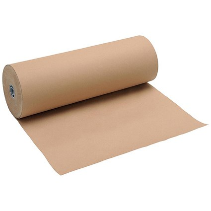 Kraft Counter Wrapping Paper Roll / 90gsm / 600mmx225m