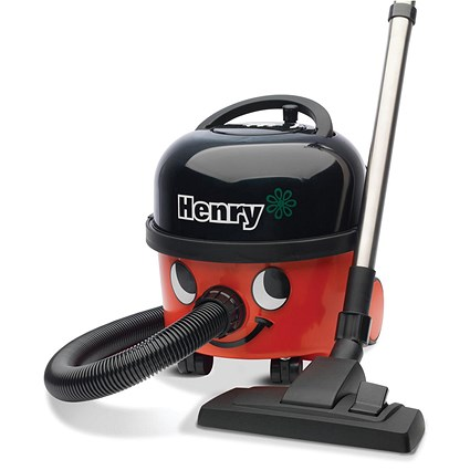 Numatic Henry Vacuum Cleaner, 620W, 6 Litre, Red