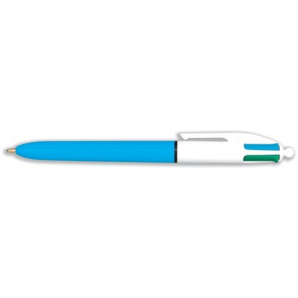 Bic 4-Colour Ball Pen - Blue Black Red Green