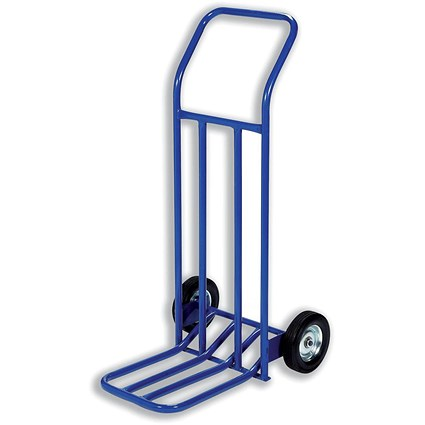 General Hand Trolley, Capacity 160kg, Blue