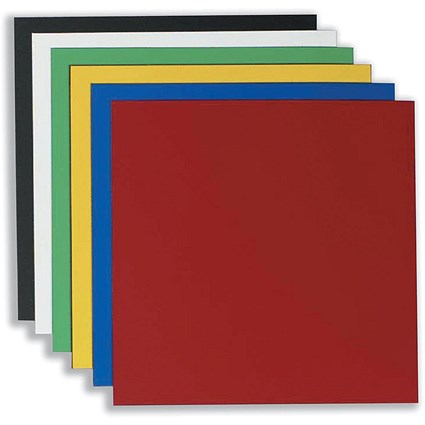 Nobo Magnetic Squares / Vinyl / 150x150mm / Assorted / Pack of 6