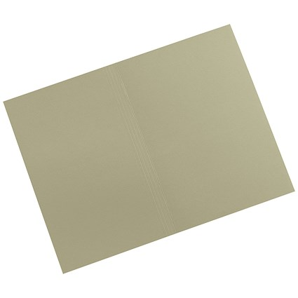 5 Star Square Cut Folders / 315gsm / Foolscap / Green / Pack of 100