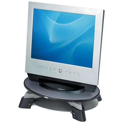 Fellowes Monitor Riser TFT LCD 76-114mm / 17 inch / 14kg Capacity / W426xD289xH121mm / Grey