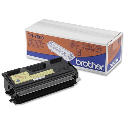 Brother TN7600 Black Laser Toner Cartridge