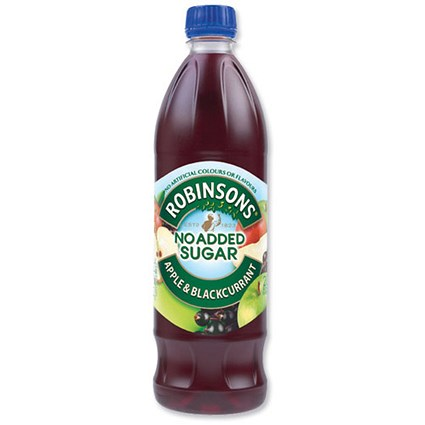 Robinsons Special R Apple and Blackcurrant Squash - 12 x 1 Litre Bottles