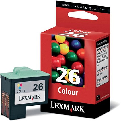 Lexmark 26 Colour Inkjet Cartridge