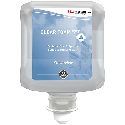 DEB Clear Foaming Hand Soap Refill Cartridge - 1 Litre