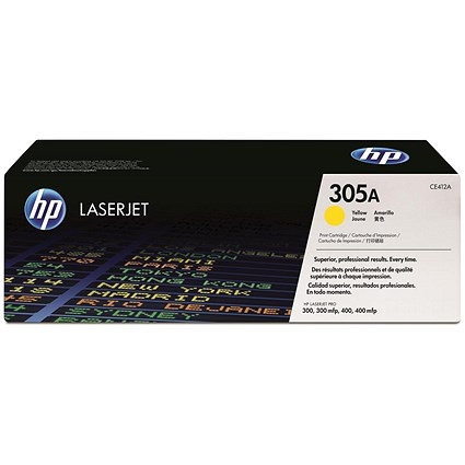 HP 305A Yellow Laser Toner Cartridge