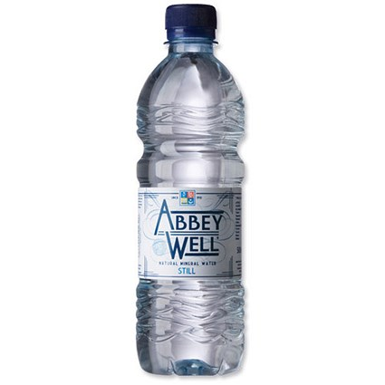 Abbey Well Still Mineral Water - 24 x 500ml Bottles