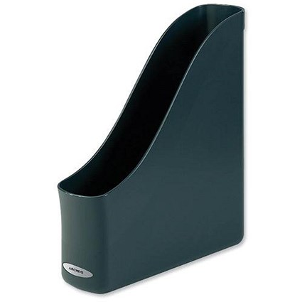 Rexel Agenda2 Recycled Finger-pull Magazine Rack / A4 / Charcoal