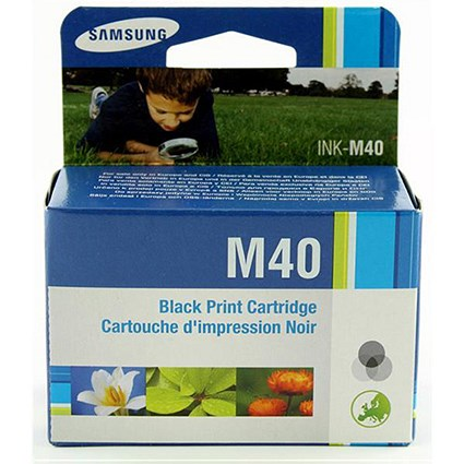 Samsung INK-M40 Black Fax Inkjet Cartridge