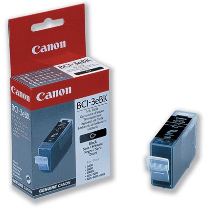 Canon BCI-3EBK Photo Black Inkjet Cartridge