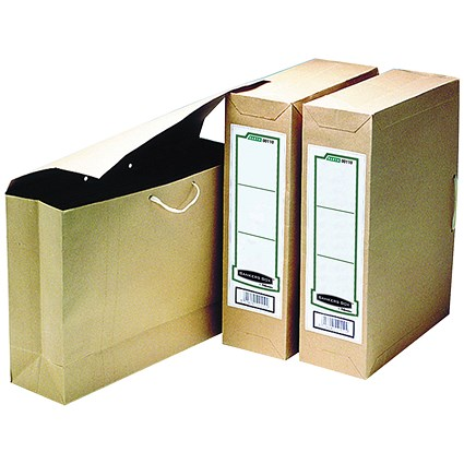 Fellowes Bankers Box Basics File Storage Bags / Foolscap / Pack of 25