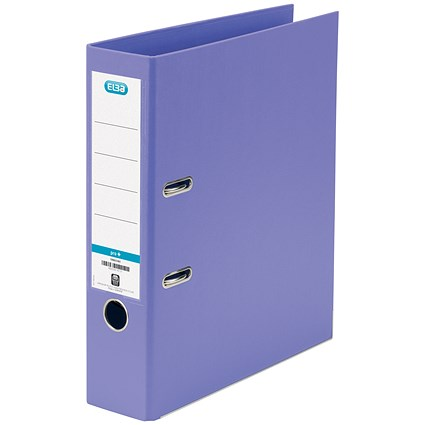 Elba A4 Lever Arch Files / PP / Purple / Pack of 10