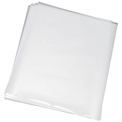 GBC A4 Laminating Pouches, Thin, 150 Micron, Glossy, Pack of 100