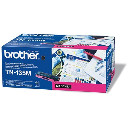 Brother TN135M Magenta Laser Toner Cartridge