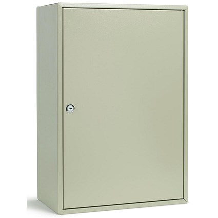 Key Cabinet Steel with Lock / 300 Numbered Hooks / Grey
