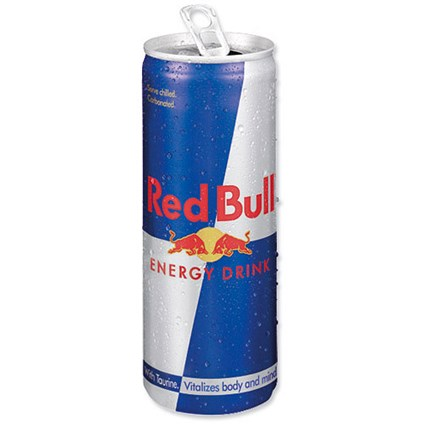 Red Bull Energy Drink Original - 24 x 250ml Cans