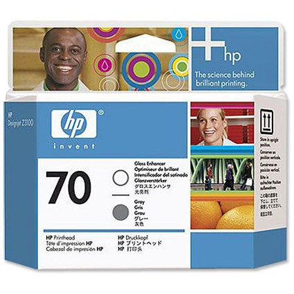 HP 70 Gloss Enhancer/Grey Printhead