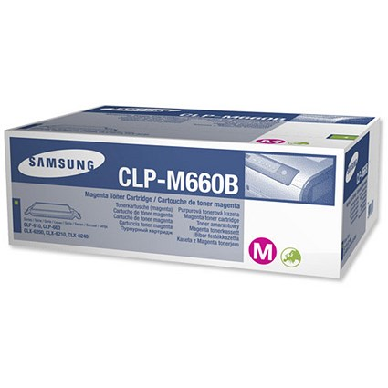 Samsung CLP-M660B High Yield Magenta Laser Toner Cartridge