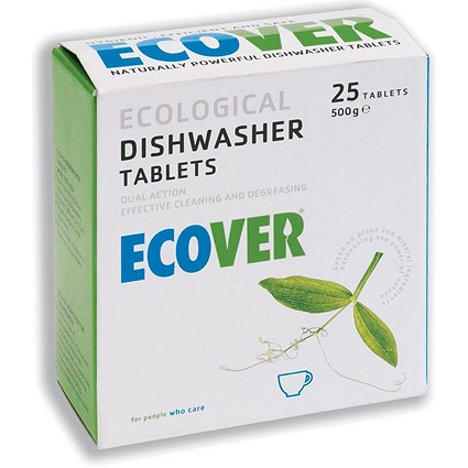 Ecover Dishwasher Tablets Environmentally friendly - Pack of 25