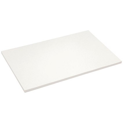 Half Demy Blotting Paper / White / Pack of 50 Sheets