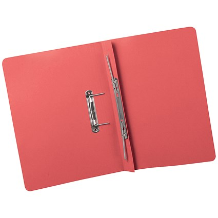 5 Star Transfer Files / 380gsm / Foolscap / Red / Pack of 25