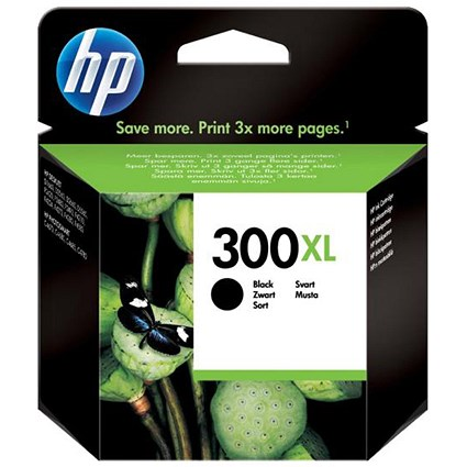 HP 300XL Black High Yield Ink Cartridge