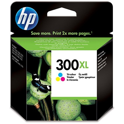 HP 300XL Colour High Yield Ink Cartridge