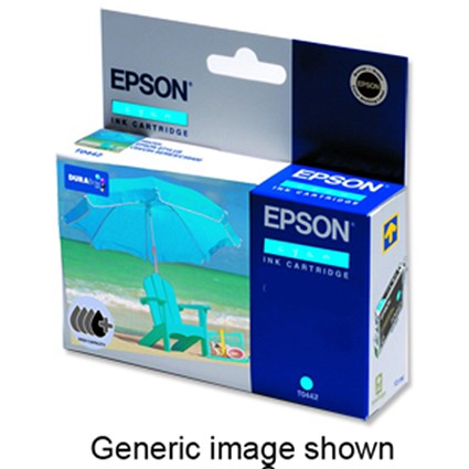 Epson T6172 High Yield Cyan Inkjet Cartridge