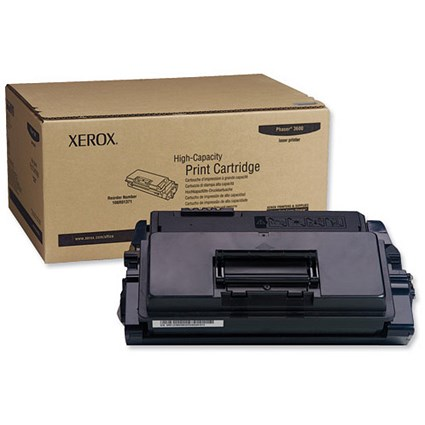 Xerox Phaser 3600 High Yield Black Laser Toner Cartridge