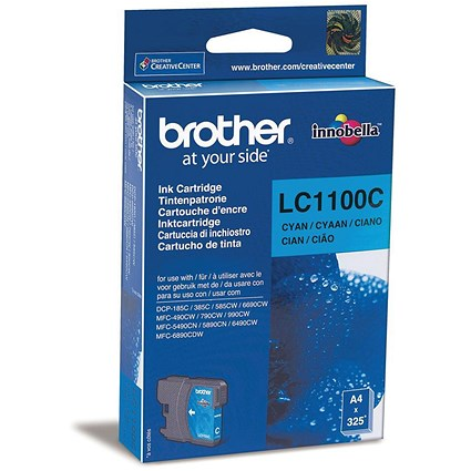Brother LC1100C Cyan Inkjet Cartridge