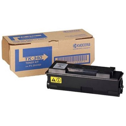 Kyocera TK-340 Black Laser Toner Cartridge