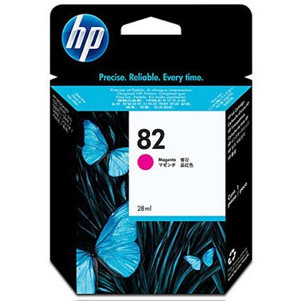 HP 82 Magenta Ink Cartridge - Low Capacity