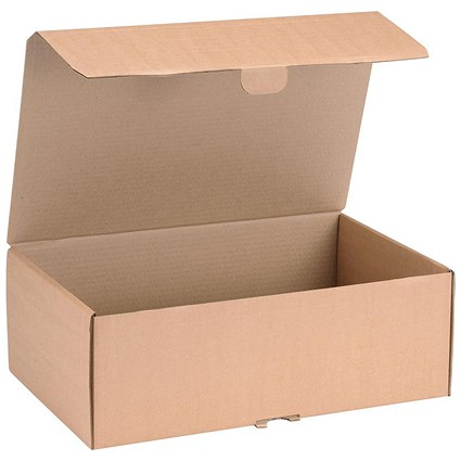 Mailing Carton, 395x255x140mm, Brown, Pack of 20