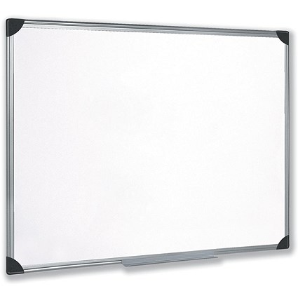 5 Star Magnetic Whiteboard / Aluminium Frame / W900xH600mm