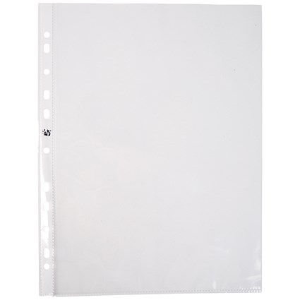 5 Star A4 Punched Pockets / Top & Side-opening / 60 Micron / Pack of 100