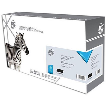 5 Star Compatible - Alternative to HP 96A Black Laser Toner Cartridge