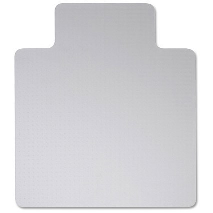 5 Star Chair Mat, Hard Floor Protection, PVC, W900xD1200mm