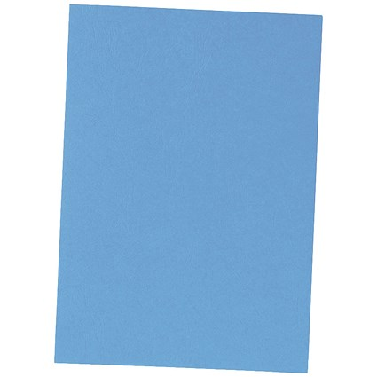 5 Star Binding Covers / 240gsm / Leathergrain / Royal Blue / A4 / Pack of 100