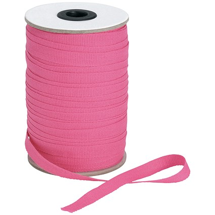 5 Star Legal Tape Reel / 10mmx100m / Pink