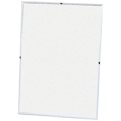 5 Star Clip Frame Plastic Fronted for Wall-mounting - A3