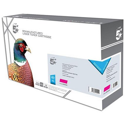 5 Star Compatible - Alternative to HP 502A Magenta Laser Toner Cartridge