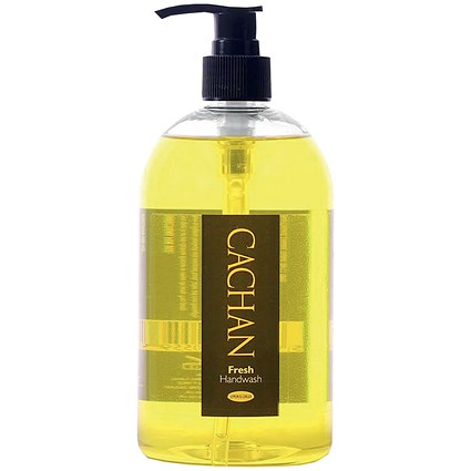 Cachan Fresh Handwash / Lemon & Ginger / 485ml