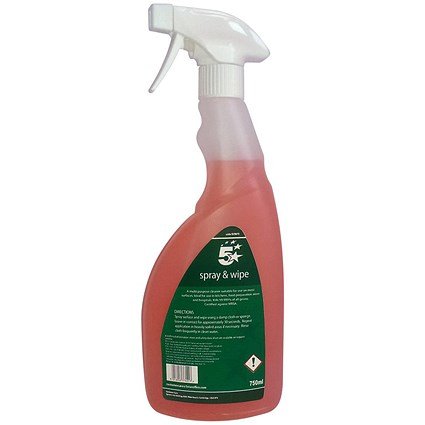 5 Star Catering Cleaner Spray - 750ml