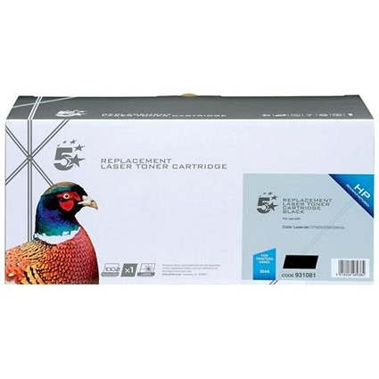 5 Star Compatible - Alternative to HP 304A Black Laser Toner Cartridge