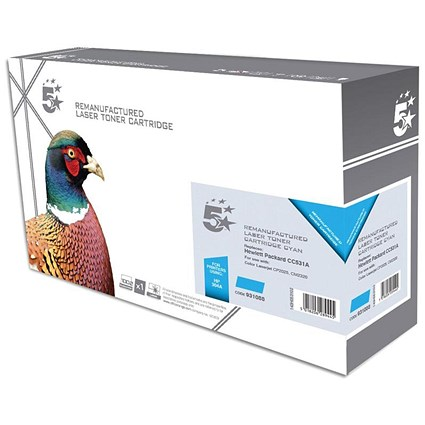 5 Star Compatible - Alternative to HP 304A Cyan Laser Toner Cartridge